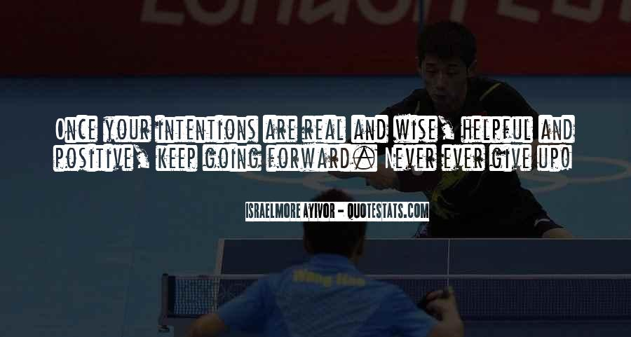 Never Ever Give Up Quotes #246160