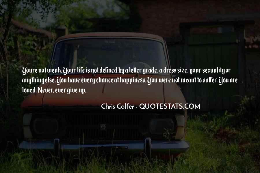 Never Ever Give Up Quotes #794064