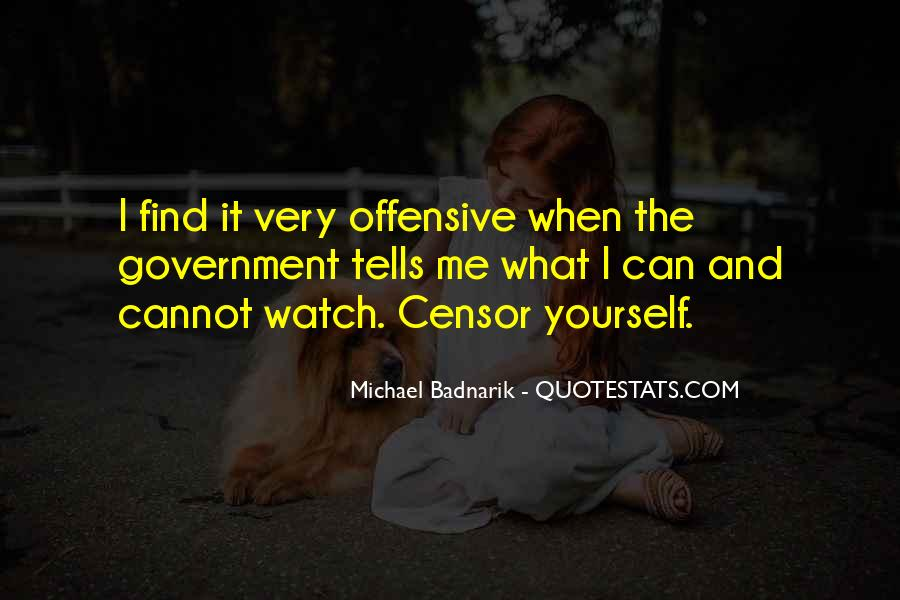 Quotes About Censor #34530