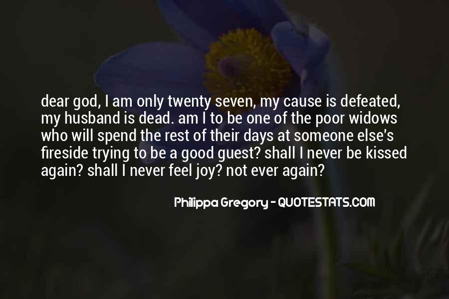 Never Feel Defeated Quotes #1512108