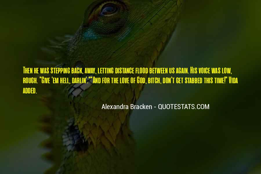 Never Give Back Quotes #1097733