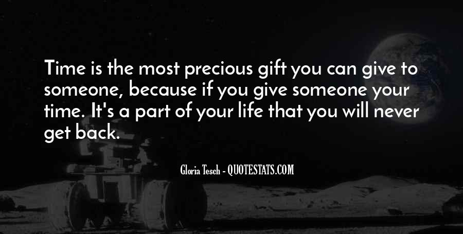 Never Give Back Quotes #1236706
