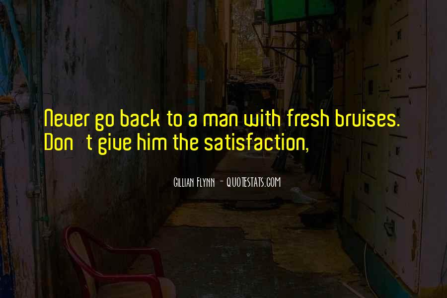 Never Give Back Quotes #127455