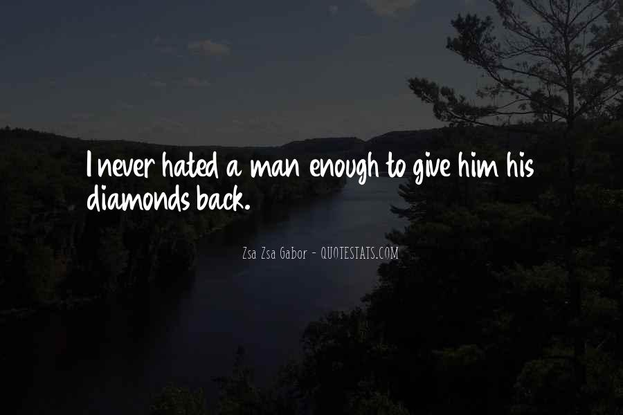 Never Give Back Quotes #230056