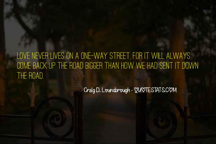 Never Give Back Quotes #814355