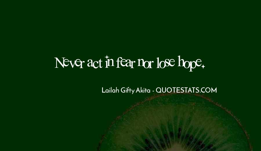 Never Give Up For What You Want Quotes #5843