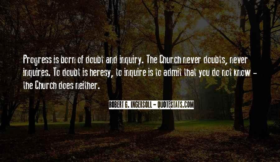 Never Have Doubts Quotes #1146544