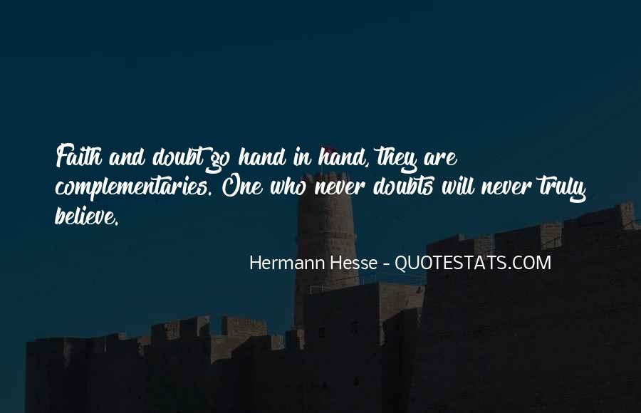 Never Have Doubts Quotes #2584