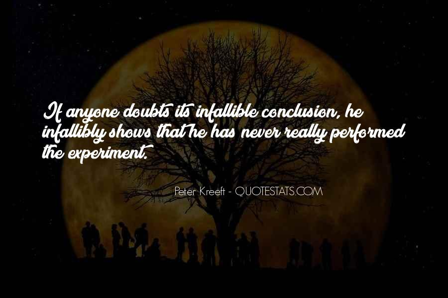Never Have Doubts Quotes #673466