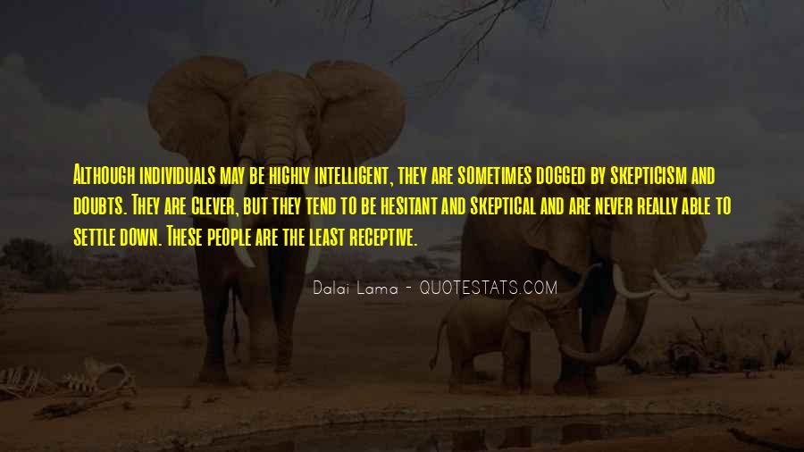 Never Have Doubts Quotes #779981