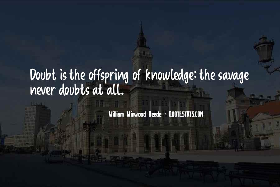 Never Have Doubts Quotes #976654