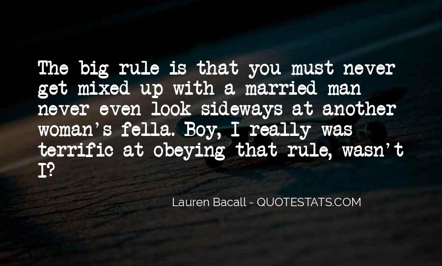 Never Let A Man Rule You Quotes #734159