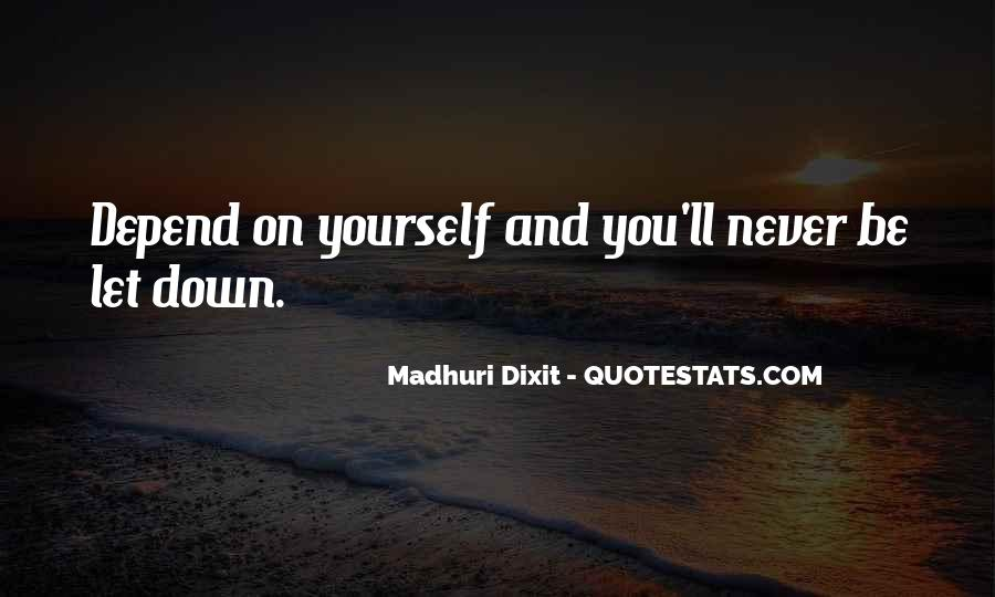 Never Let You Down Quotes #1221866