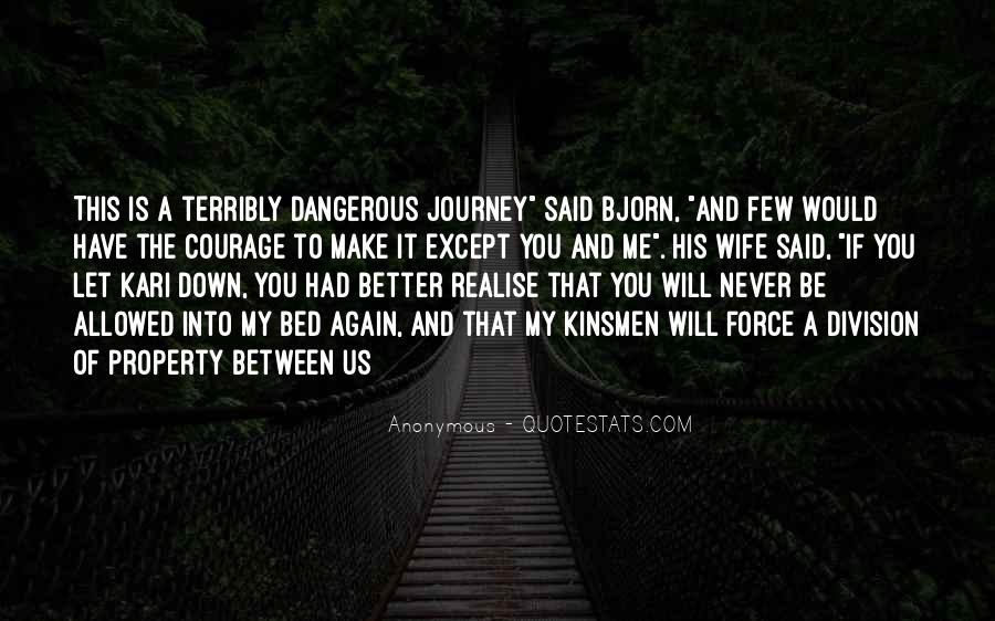 Never Let You Down Quotes #1273404