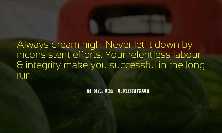 Never Let You Down Quotes #1348689