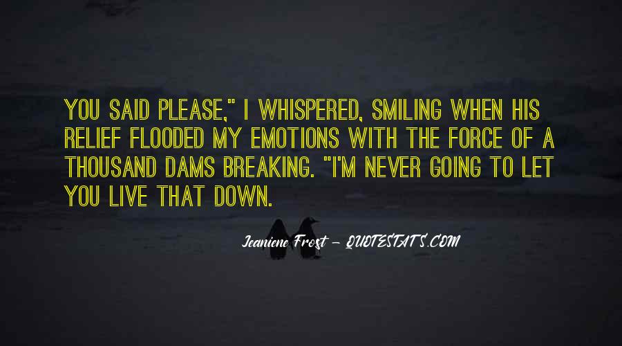 Never Let You Down Quotes #1394351