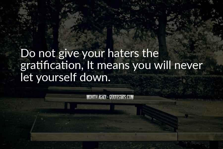 Never Let You Down Quotes #238734