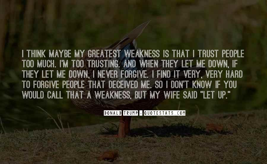 Never Let You Down Quotes #314922