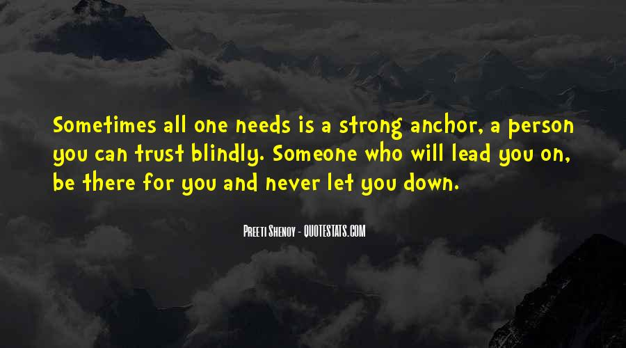 Never Let You Down Quotes #399053