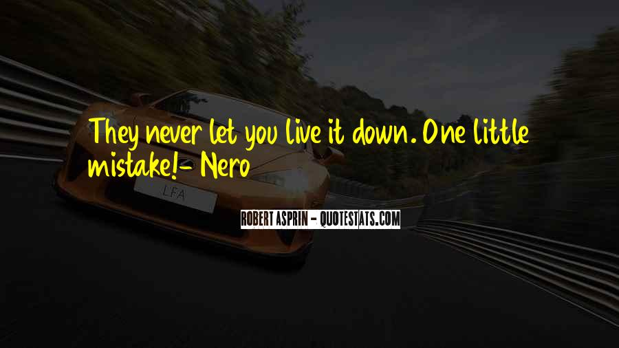 Never Let You Down Quotes #466755