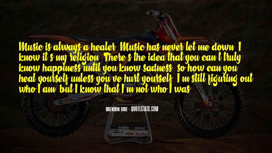 Never Let You Down Quotes #476887