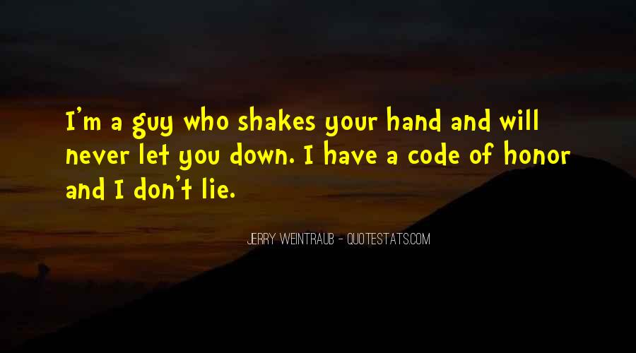 Never Let You Down Quotes #545451