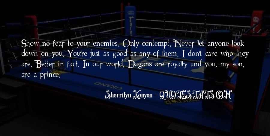 Never Let You Down Quotes #783404