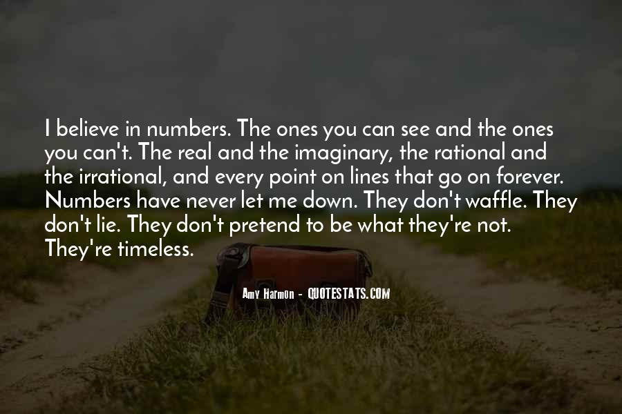 Never Let You Down Quotes #942004