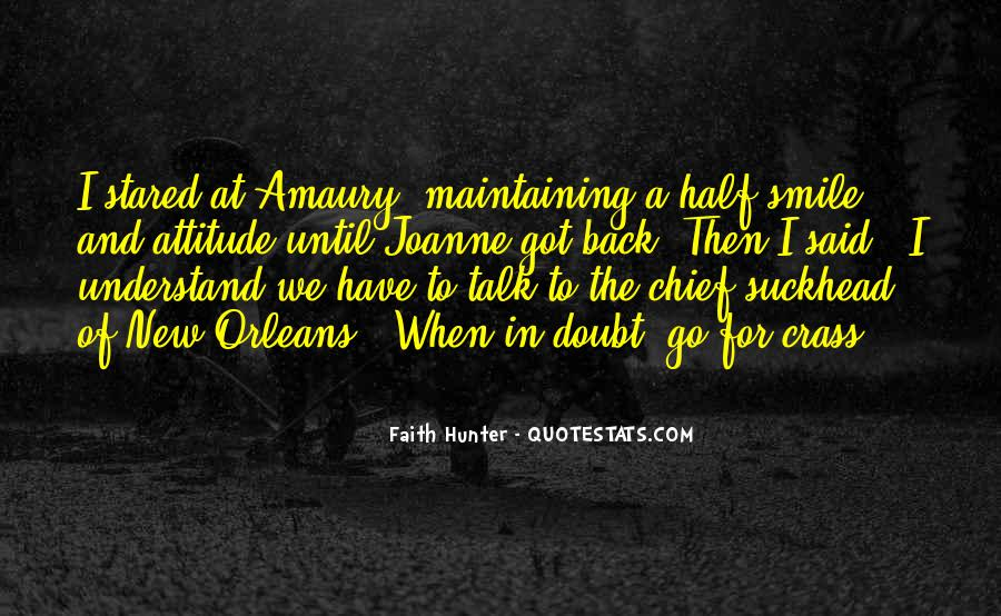 Never Look Back Attitude Quotes #1174135