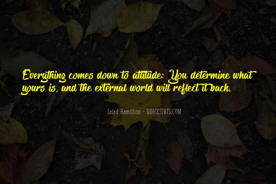 Never Look Back Attitude Quotes #1416543
