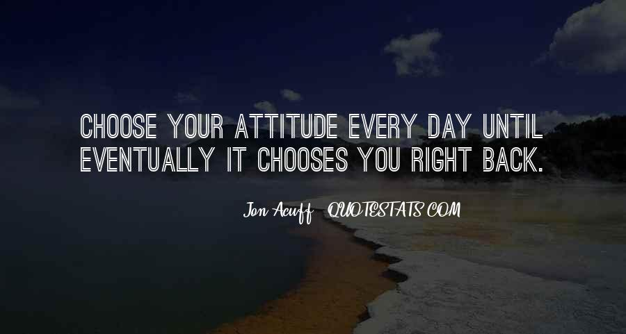 Never Look Back Attitude Quotes #1865170
