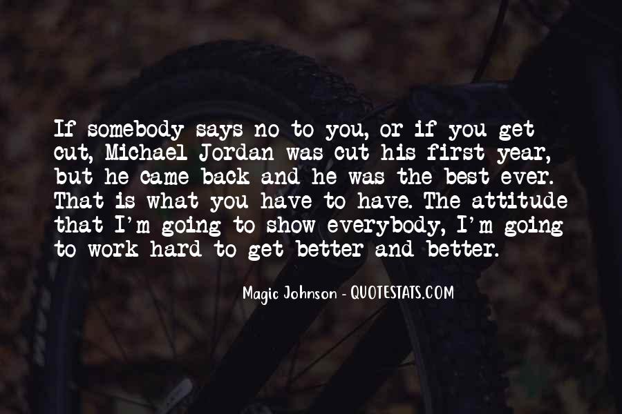 Never Look Back Attitude Quotes #207868