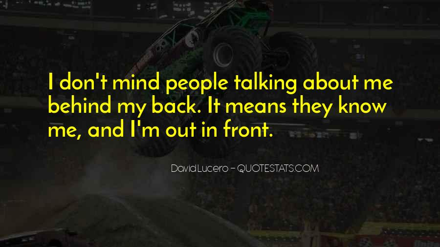 Never Look Back Attitude Quotes #423201