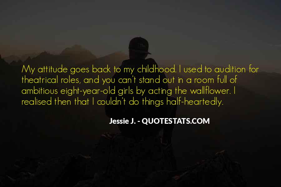 Never Look Back Attitude Quotes #550659