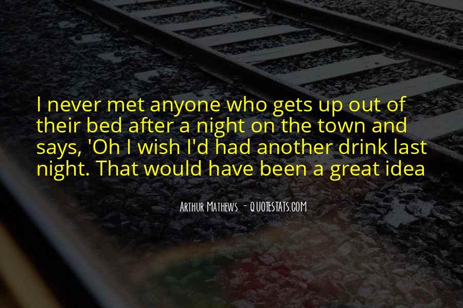 Never Met U Quotes #12776