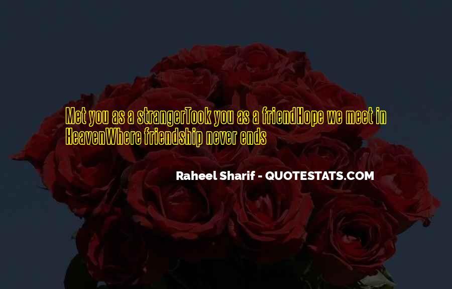 Never Met U Quotes #27874