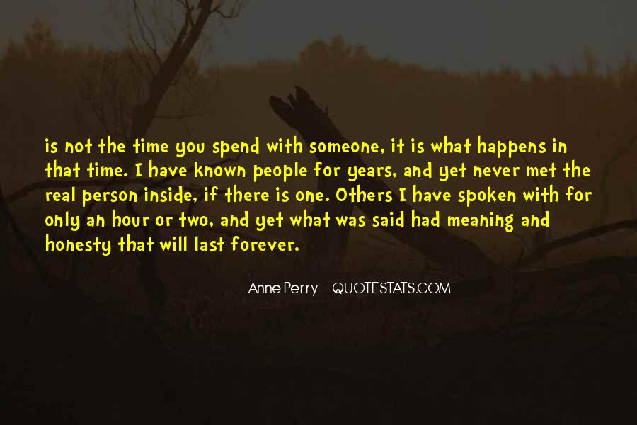 Never Met U Quotes #40396