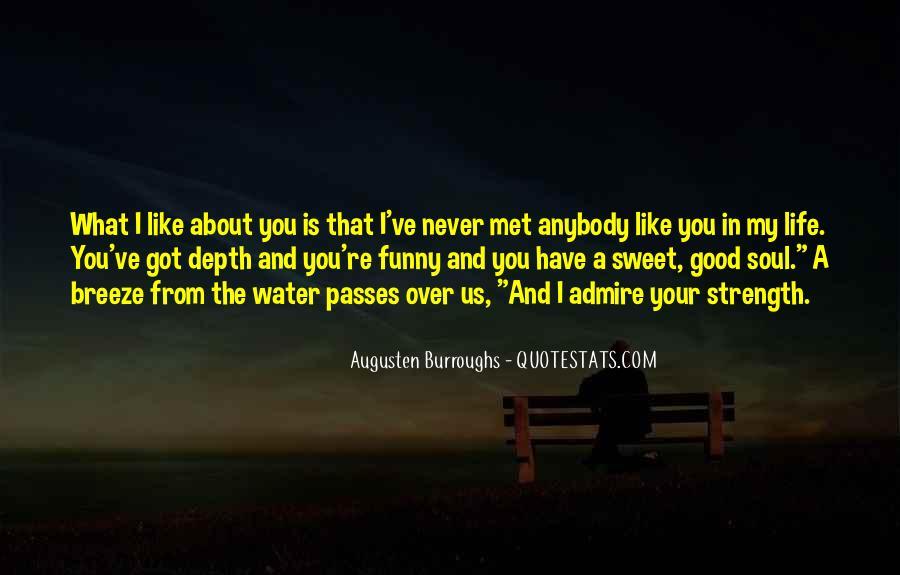 Never Met U Quotes #8210