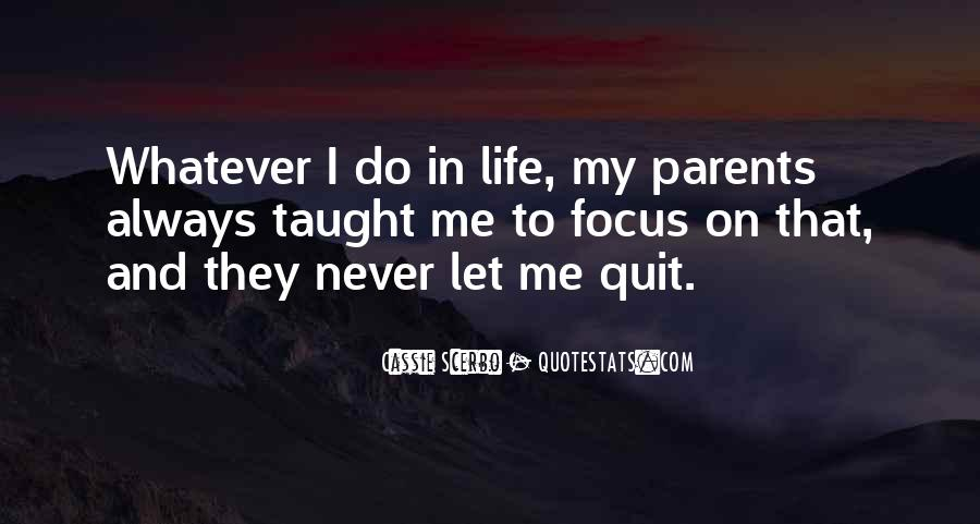 Never Never Quit Quotes #319747