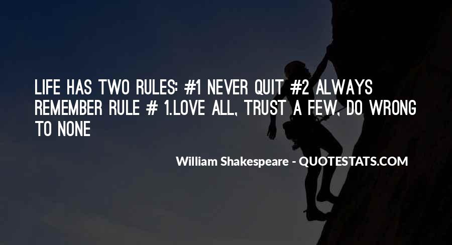 Never Never Quit Quotes #328571