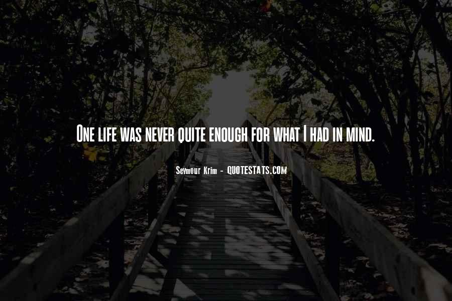 Never Never Quit Quotes #340959