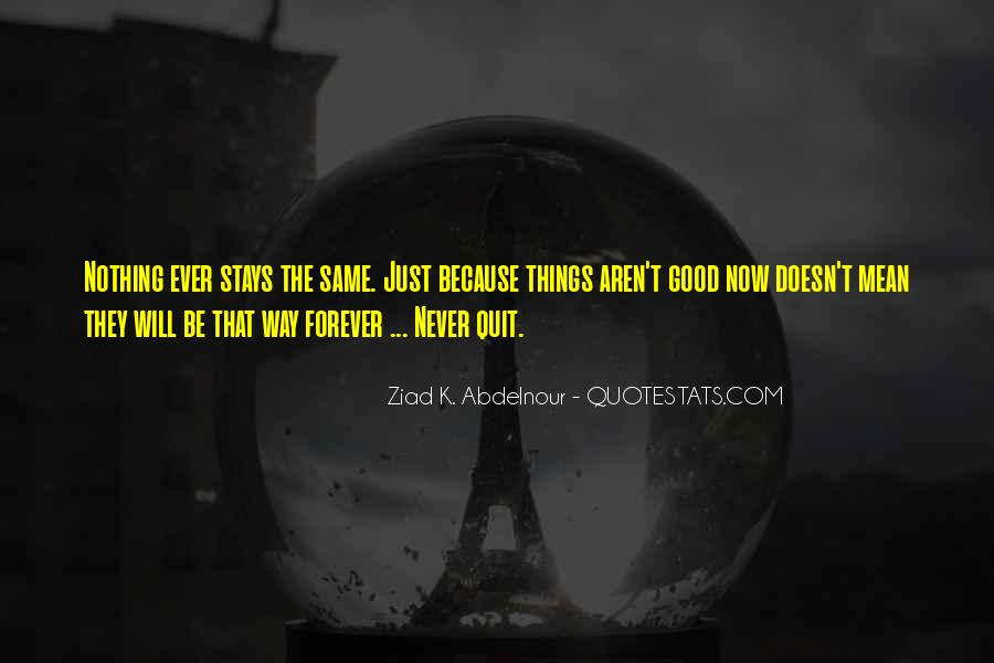 Never Never Quit Quotes #84922