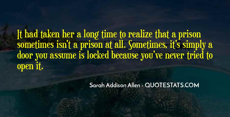Never Realize Quotes #110689