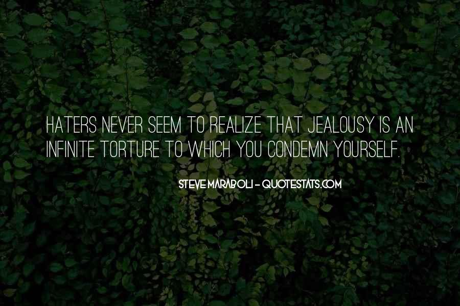 Never Realize Quotes #135788