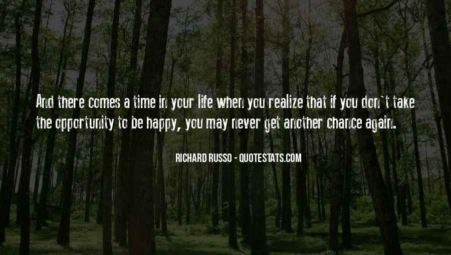Never Realize Quotes #395290