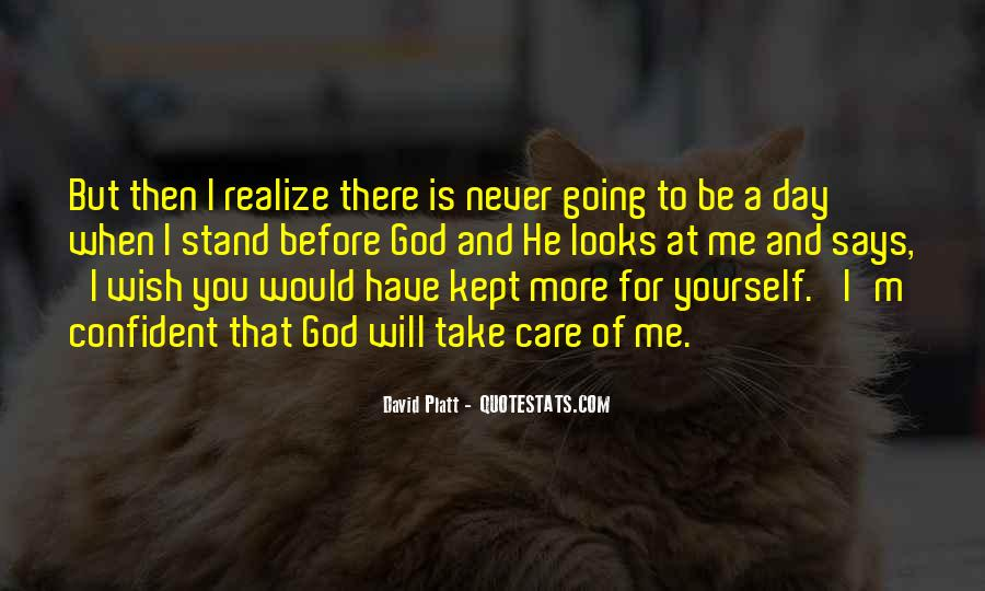 Never Realize Quotes #438109