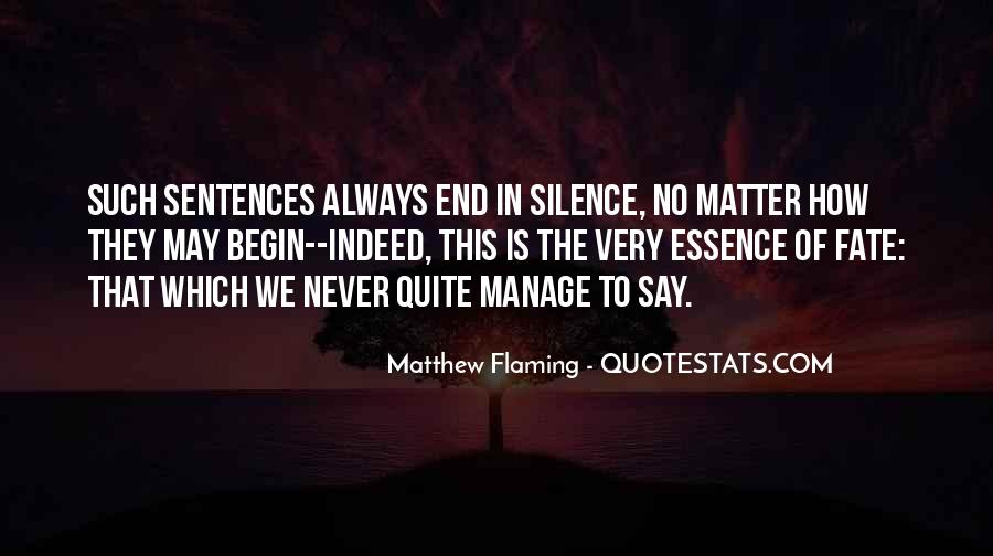 Never Say Always Quotes #274551