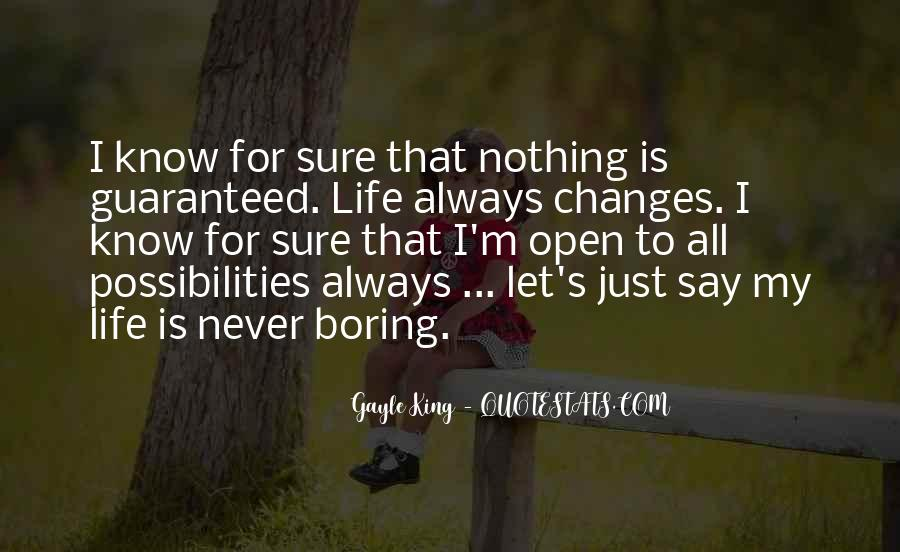 Never Say Always Quotes #547351
