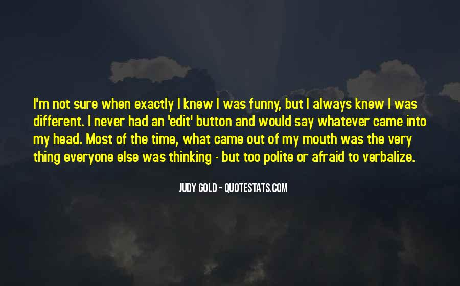 Never Say Never Funny Quotes #1874678