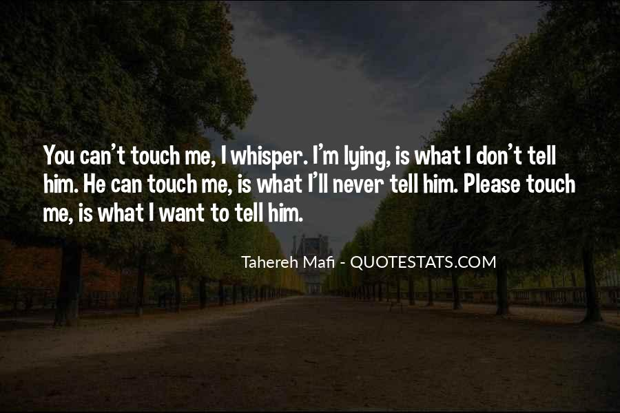 Never Tell Me I Can't Quotes #878086